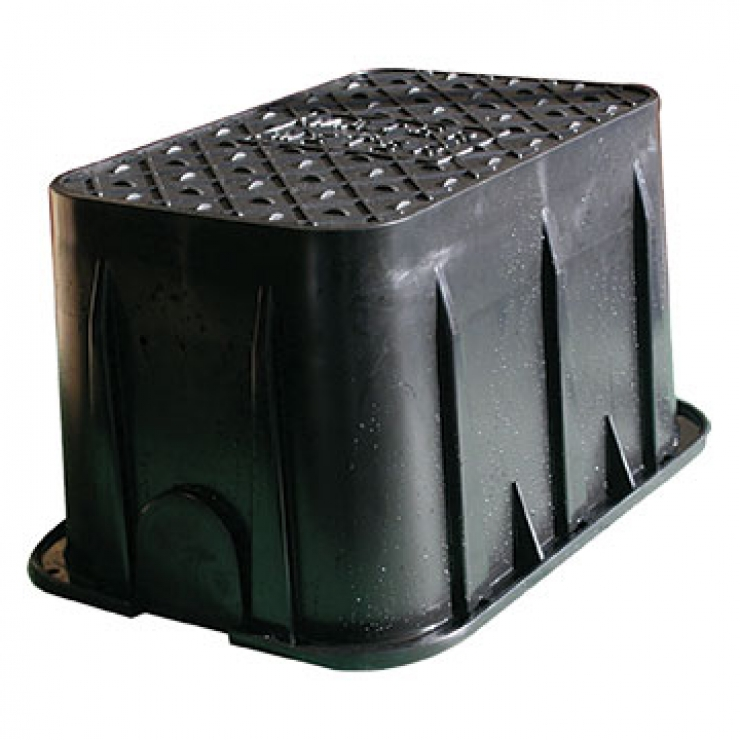 Reverse Taper Low Profile Surface Box
